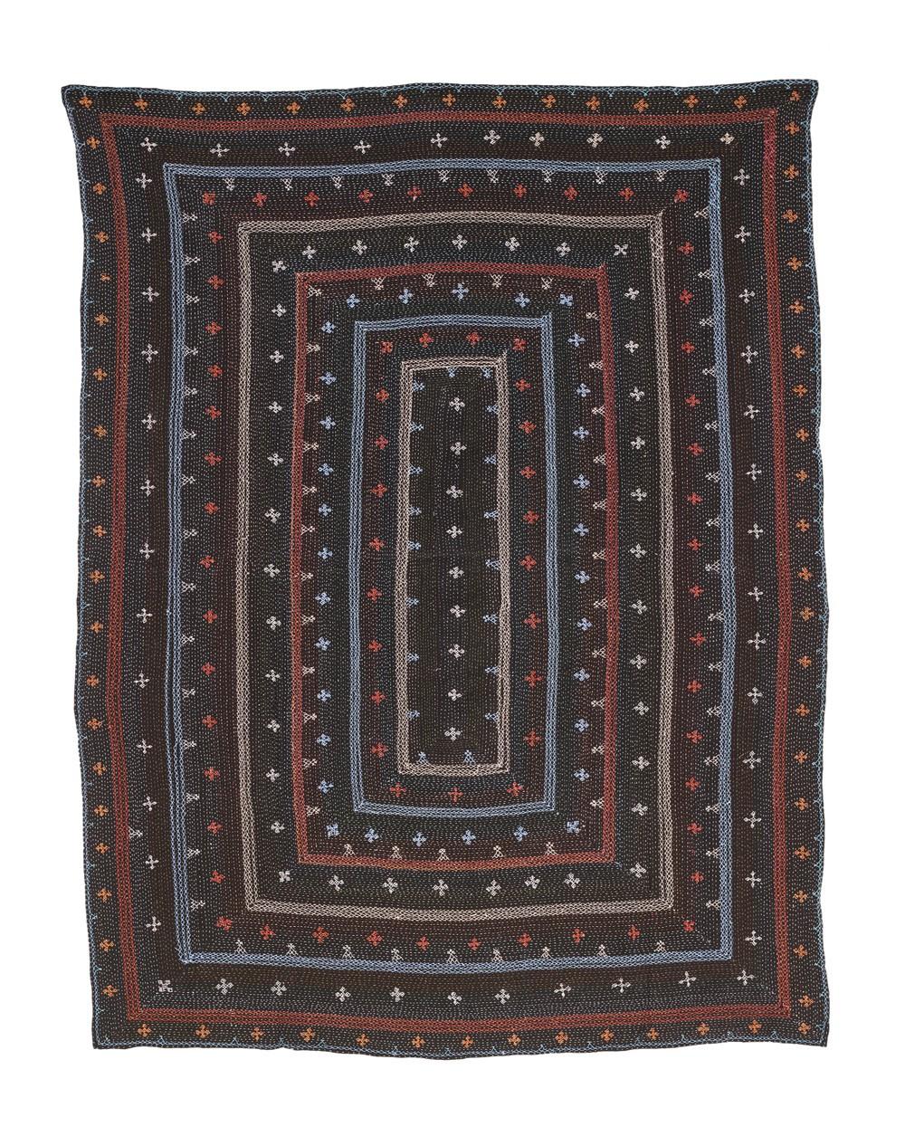 TEXTILES BLACK SAMI 260 x 140 cm