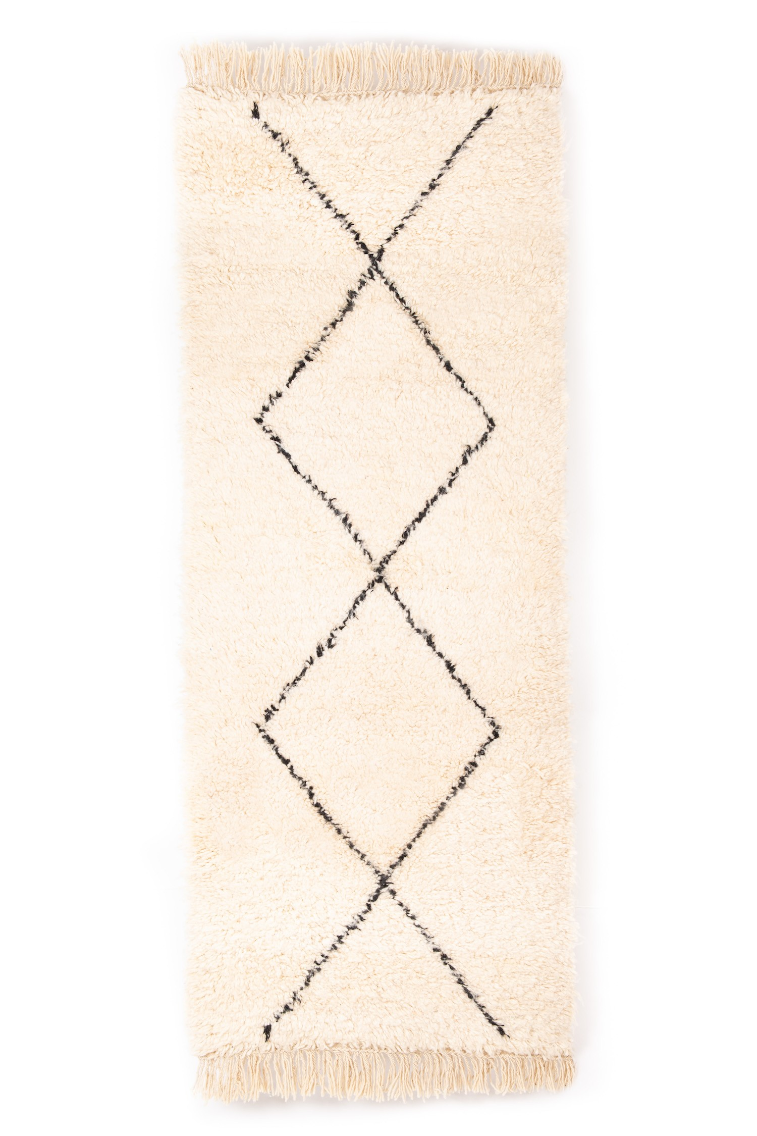 BENI OUARAIN RUG 205 x 84 cm