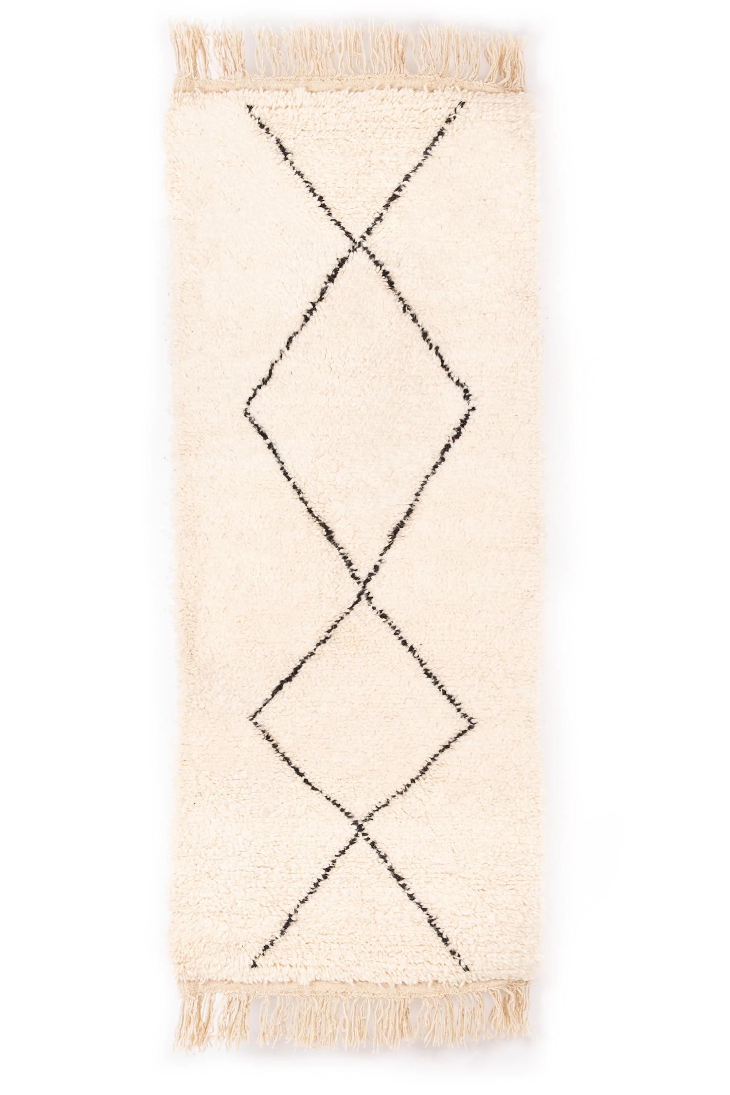 BENI OUARAIN RUG 202 x 82 cm