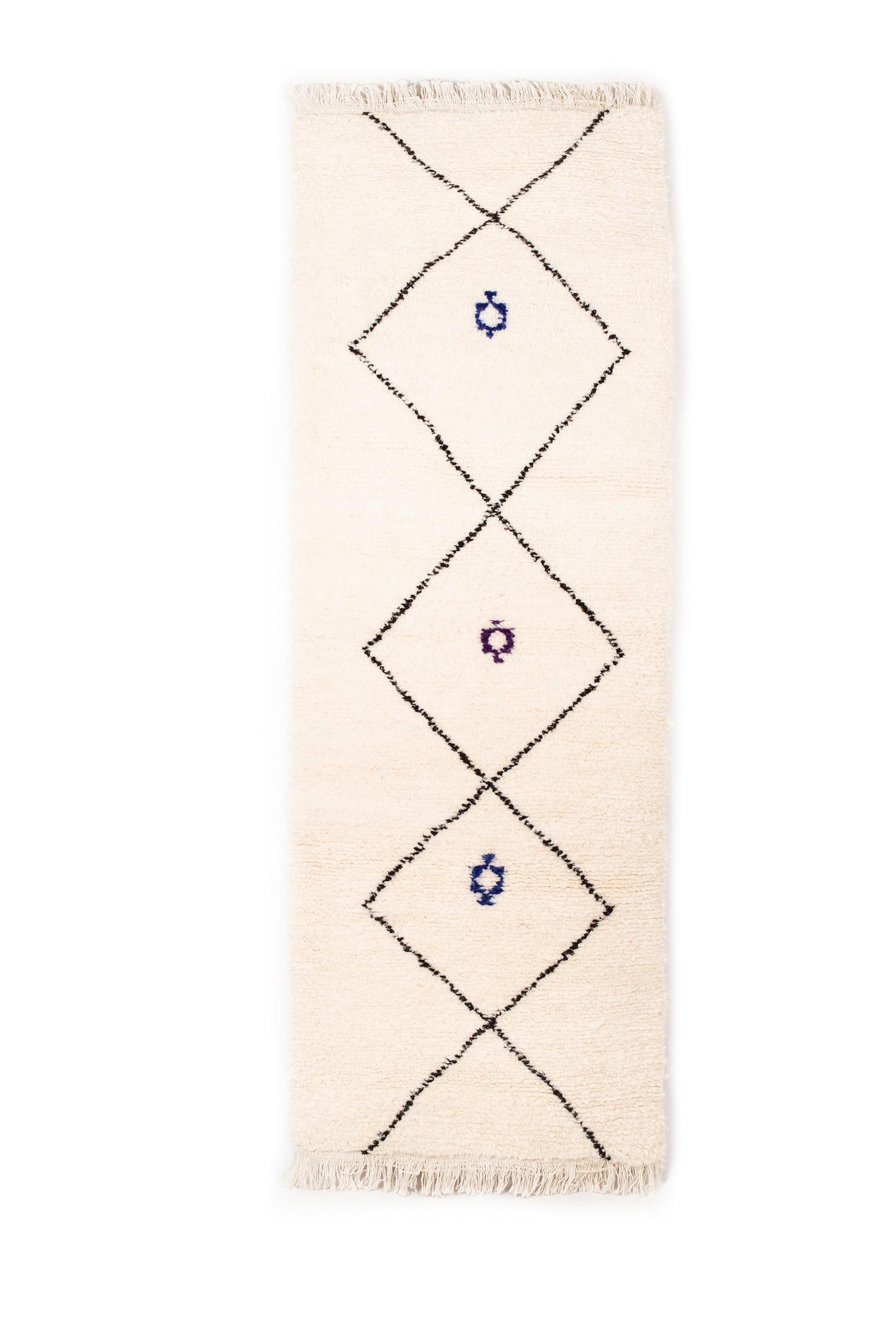 BENI OUARAIN RUG 200 x 80 cm