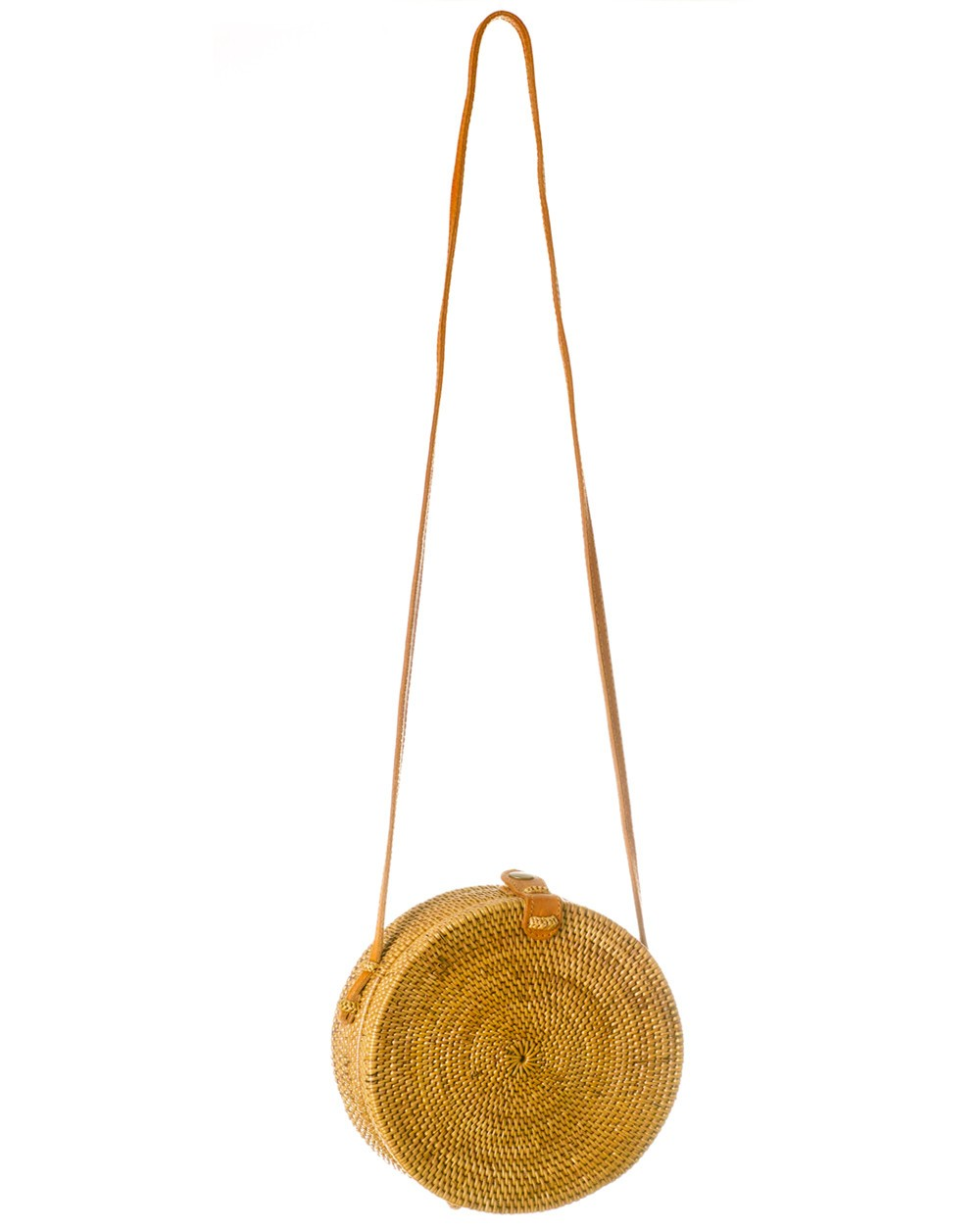 ROUND WICKER BAG from BALI