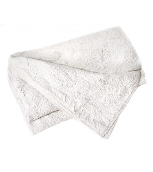 Couvre lit rideau - Dessus de lit pique de coton ...