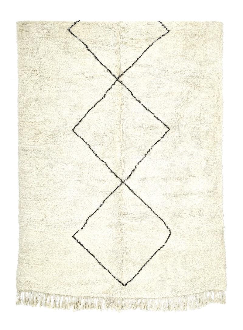 TAPIS BERBERE BENI OUARAIN 330 x 210 cm