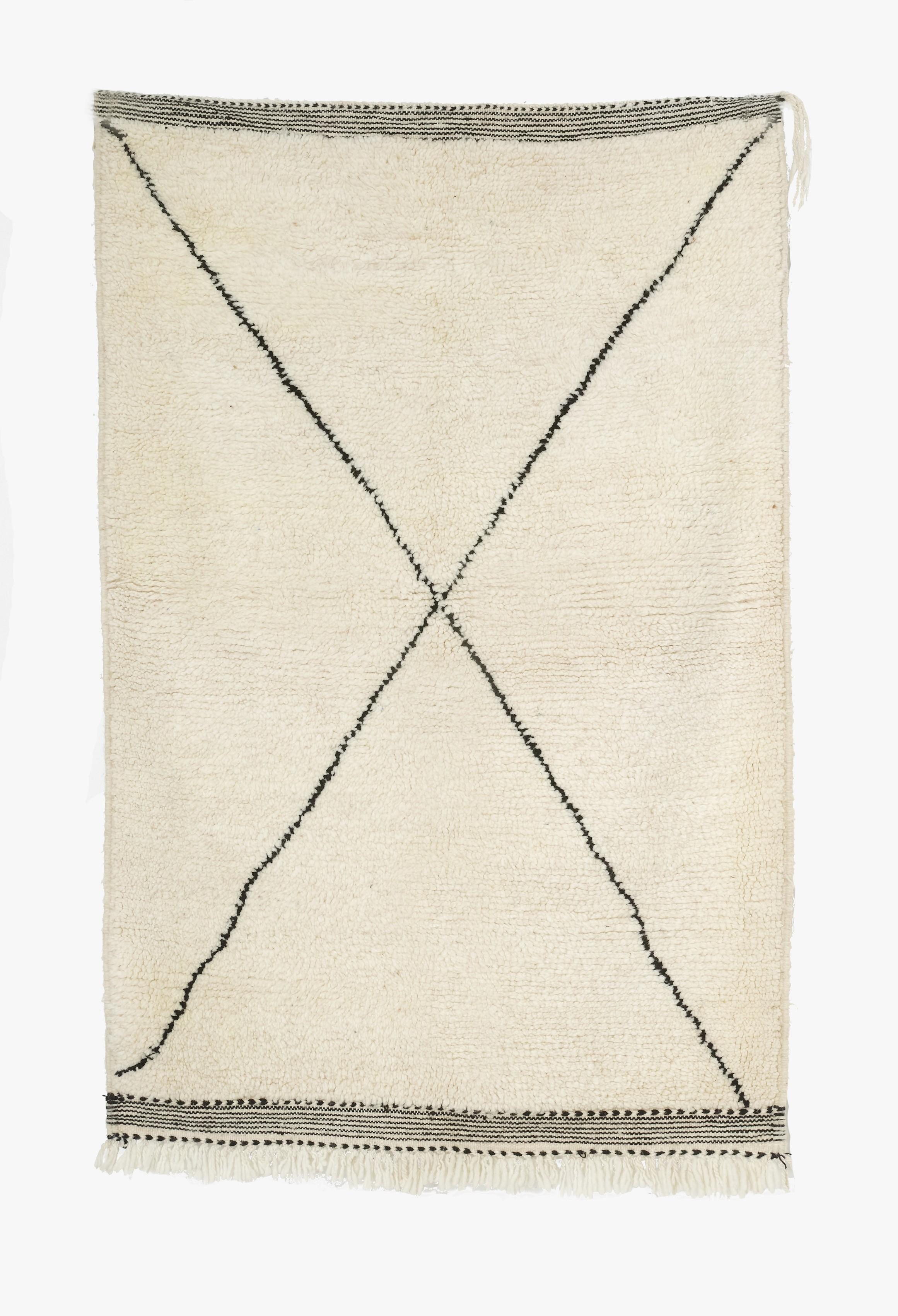 TAPIS BENI OUARAIN 154 x 105 cm