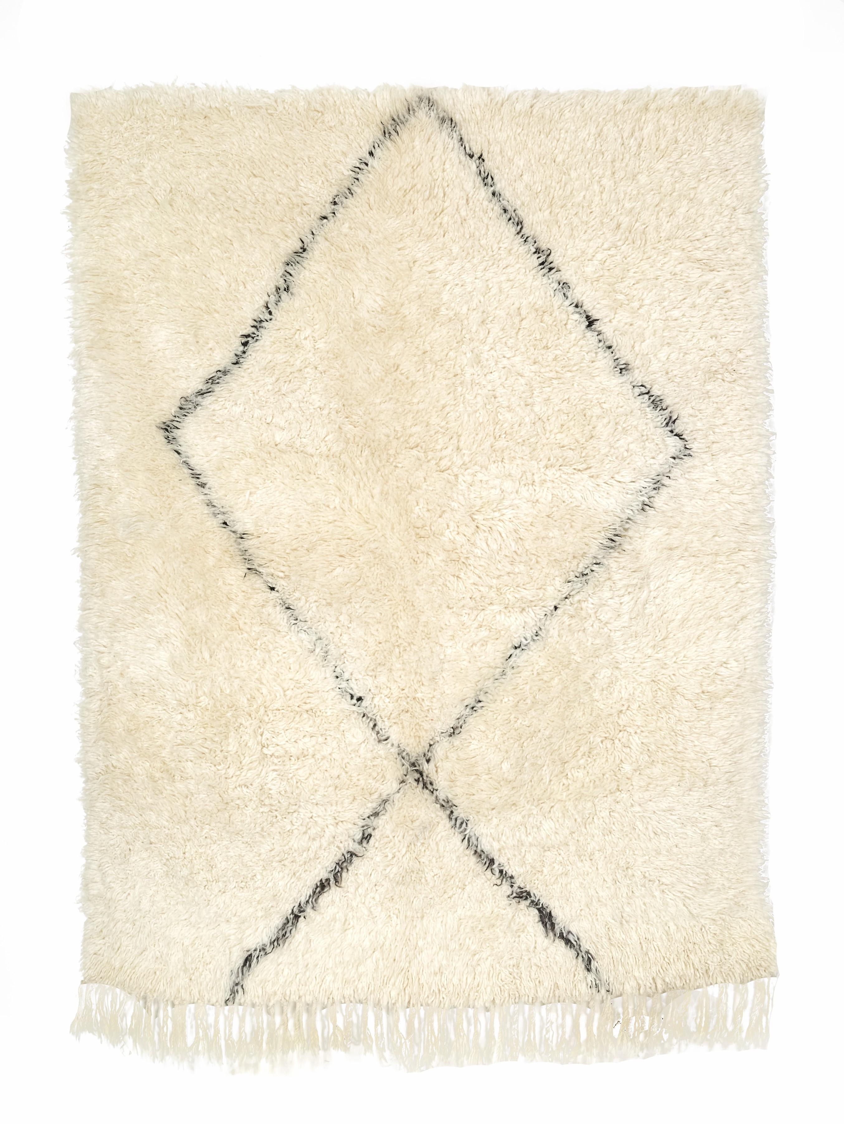 TAPIS BERBERE BENI OUARAIN 210 x 150 cm